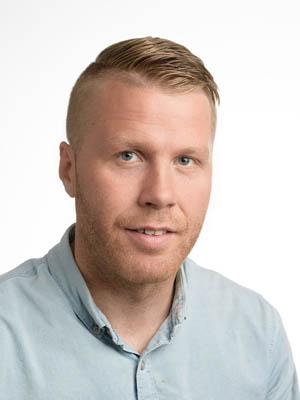 Ólafur Víðir Ólafsson hjá Securitas