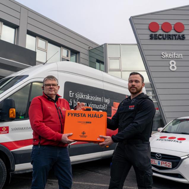 Landsbjörg og Securitas